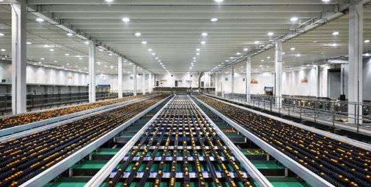 large distribution center